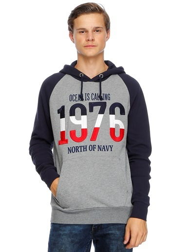 Sweatshirt-North Of Navy